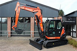 2017 Kubota KX080-4 Alpha 2PC
